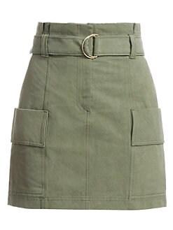 2f6f45df2724 A.L.C.. Kai Belted Cargo Mini Skirt