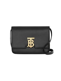 91db47619fc1 Product image. QUICK VIEW. Burberry. Small Logo Leather Crossbody Bag