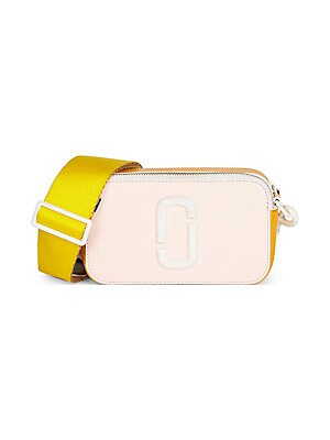 90d18d2f70ce Marc Jacobs - Snapshot Ceramic Coated Leather Bag - saks.com