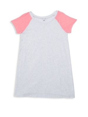 Splendid Girl S Colorblock T Shirt Dress