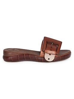 save off f85f3 30381 Shoes - Shoes - Sandals - Slides - saks.com