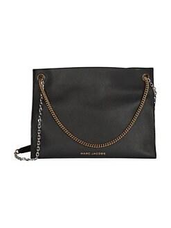 a94df7815cf Product image. QUICK VIEW. Marc Jacobs. Double Link Leather Shoulder Bag