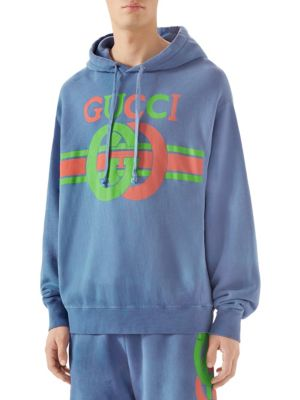 83c99da4 Gucci - Magnetismo Animale Chenille Hoodie - saks.com