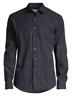 12d20ad6719 QUICK VIEW. Salvatore Ferragamo. Chain Link Gancini Shirt