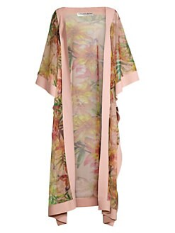 cdc990a877 Candela Floral Coverup Kimono TIGER LILY. QUICK VIEW. Product image