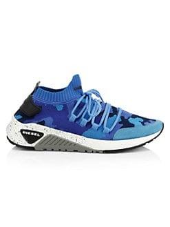 1e87cc9033 QUICK VIEW. Diesel. Camo Knit Sneakers