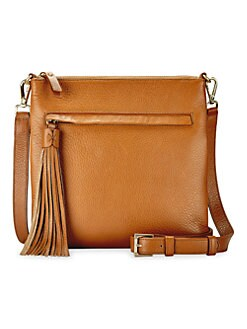 1c167fde40 QUICK VIEW. Gigi New York. Scott Pebbled-Leather Crossbody Bag