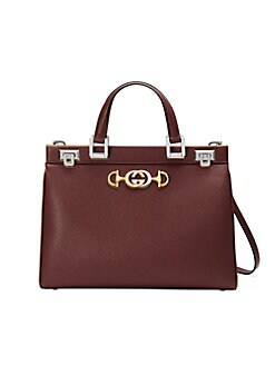 1c2cd67691a05c QUICK VIEW. Gucci. Gucci Zumi Leather Top Handle Bag