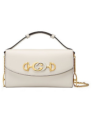 Mini Borghese Leather Shoulder Bag by Gucci