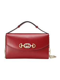 834a2e64133 Gucci. Gucci Zumi Leather Shoulder Bag