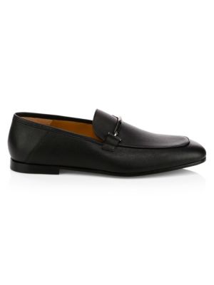 Hugo Boss Safari Bit Leather Loafers