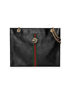 d3058858d4f Product image. QUICK VIEW. Gucci. Large Rajah Leather Tote Bag