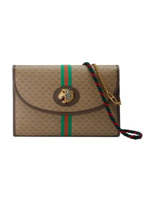06443a2124 Gucci - Dionysus GG Supreme Medium Canvas Shoulder Bag - saks.com