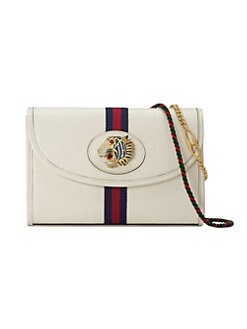 5be99889bbde Product image. QUICK VIEW. Gucci. Small Rajah Leather Shoulder Bag