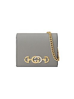 ae6c57af3ab Product image. QUICK VIEW. Gucci. Linea Leather Shoulder Card Case