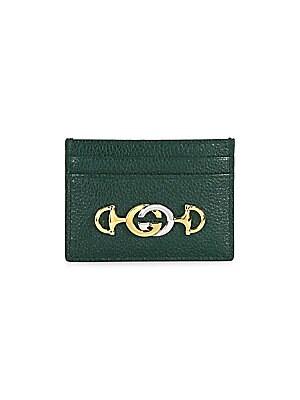 Gucci , Gucci Zumi Grainy Leather Card Case