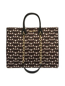 c981e4dbc5f9 Logo Cotton Jacquard Tote BLACK. QUICK VIEW. Product image. QUICK VIEW. Miu  Miu