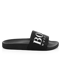 916ca468a QUICK VIEW. HUGO BOSS. Solar Logo Slide Sandals
