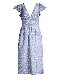 1ce5af2c83c26 QUICK VIEW. Kisuii. Callista Floral Print Midi Dress