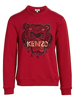 abaa4fe277c96 Good Luck Tiger Sweatshirt DARK RED. QUICK VIEW. Product image