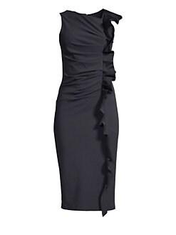 f1017fc3aaa Product image. QUICK VIEW. Max Mara. Cleo Side Ruffle Sheath Dress