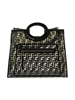 a189a2457d0 QUICK VIEW. Fendi. Medium Runaway PVC Shopper