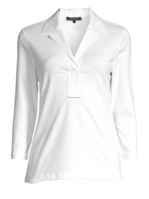 Lafayette 148 New York Magda Cotton Top