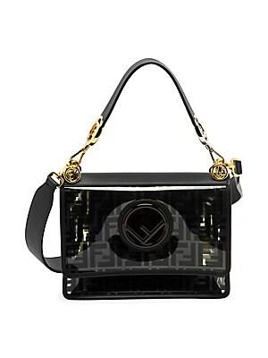 ce5ca48d3fd4 Fendi - Kan I Logo Leather Shoulder Bag - saks.com
