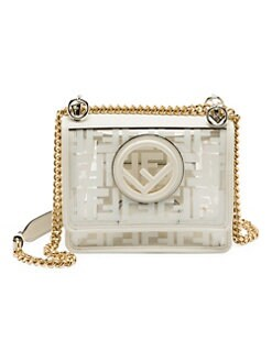 QUICK VIEW. Fendi. Small Kan I Transparent Logo Mini Bag 004e4615b1b01