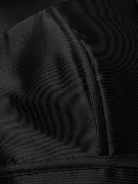 Basix Black Label Strapless Mikado Mermaid Gown   SaksFifthAvenue