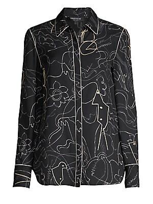 308313250da Lafayette 148 New York - Caridee Weave Asymmetrical Jacket - saks.com