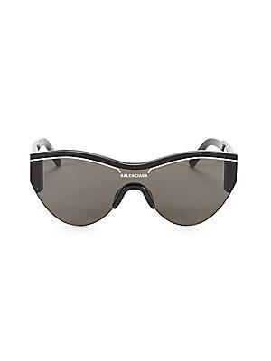 46bd0caeff Balenciaga - 99MM Rounded Shield Sunglasses