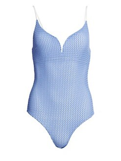 d39b20cf1bf56 QUICK VIEW. Onia. Gloria Textured One-Piece Swimsuit