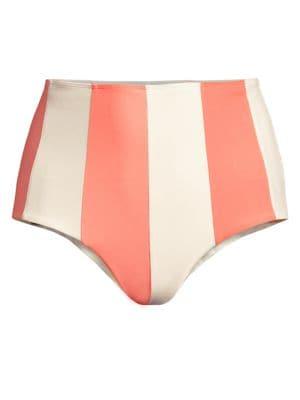 Paper London Sunshine Stripe Bikini Bottom