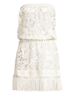 Ramy Brook Dresses Delphi Floral Embroidery Coverup Dress