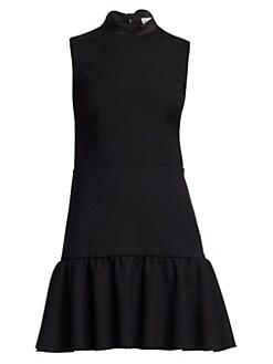 df46605aff7 QUICK VIEW. REDValentino. Flounce Hem Mockneck Dress