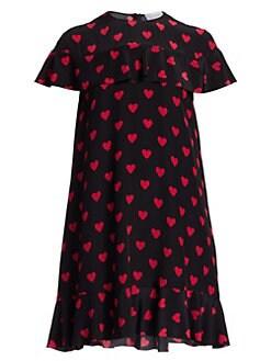 e0d06f6bf0c12 Product image. QUICK VIEW. REDValentino. Heart Mini Shift Dress