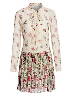 db28d04f21a QUICK VIEW. REDValentino. Floral Tie-Neck Dress
