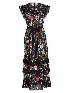 59e5e0de2d43f Product image. QUICK VIEW. REDValentino. Floral Maxi Dress