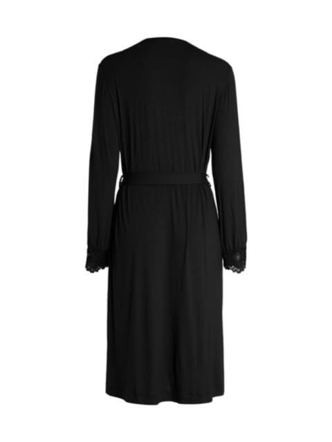 La Perla Lace-Trim Robe | SaksFifthAvenue