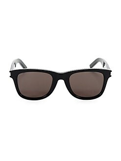 f9a2c5a7cc31 Saint Laurent. 50MM Studded Square Sunglasses