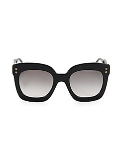 0c738f9e91 QUICK VIEW. Bottega Veneta. 51MM Oversized Square Sunglasses