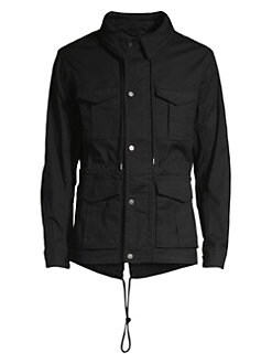 moncler FIELD JACKETS NERO
