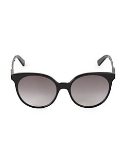 296b3efe7c1 54MM Round Sunglasses BLACK. QUICK VIEW. Product image. QUICK VIEW. Gucci