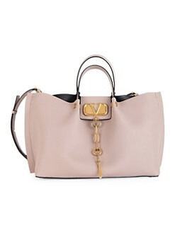 57e20abb1fd9e ... Leather Tote Bag BLACK. QUICK VIEW. Product image. QUICK VIEW. Valentino  Garavani