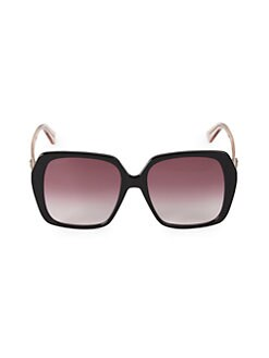 6c8c65f7dd1 QUICK VIEW. Gucci. 56MM Square Sunglasses