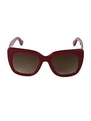 51 Mm Acetate Sunglasses by Gucci