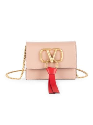 Valentino Garavani Vsling Leather Shoulder Pouch