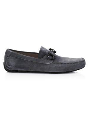 Salvatore Ferragamo Loafers Parigi Suede Loafers