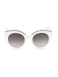 24bd1eae544 Round   Oval. Alaïa - 52MM Round Sunglasses